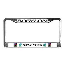 Funny Babylon License Plate Frame