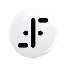 "V Symbol Visitors TV 3.5"" Button"