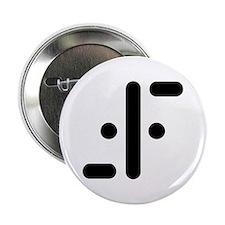 """V Symbol Visitors TV 2.25"""" Button (100 pack)"""