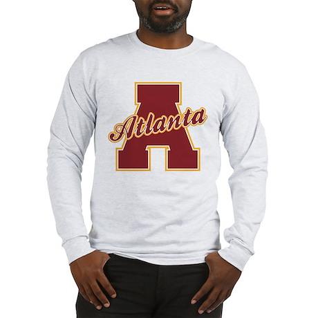 Atlanta Letter Long Sleeve T-Shirt