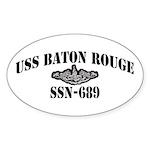 USS BATON ROUGE Sticker (Oval)