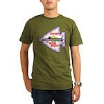 USS BATON ROUGE Organic Men's T-Shirt (dark)