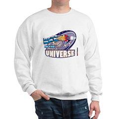 Best Dad in the Universe Dark Sweatshirt