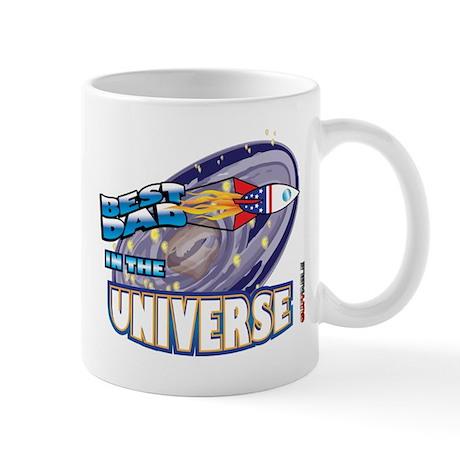 Best Dad in the Universe Dark Mug