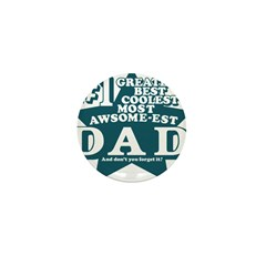 #1 Dad Mini Button (10 pack)