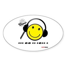 Morse Code - Smile Decal