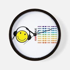 Morse Code - SMILE Wall Clock
