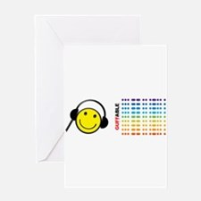 Morse Code - SMILE Greeting Card