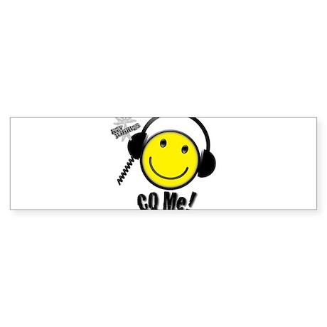 Ham CQ Me! Sticker (Bumper)