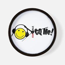 CQ Me! Wall Clock