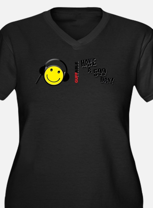 Have a 599 Day! Women's Plus Size V-Neck Dark T-Sh