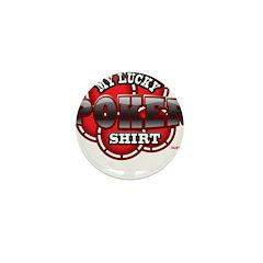 My Lucky Poker Shirt Mini Button (10 pack)