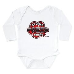 My Lucky Poker Shirt Long Sleeve Infant Bodysuit