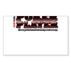 Your Money Sticker (Rectangle 10 pk)