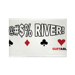 River Cuss Rectangle Magnet (100 pack)