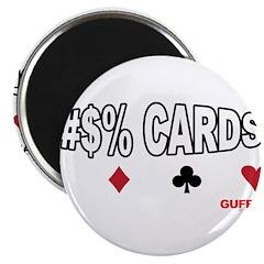 Cards Cuss Magnet