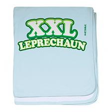 XXL Leprechaun_2 baby blanket