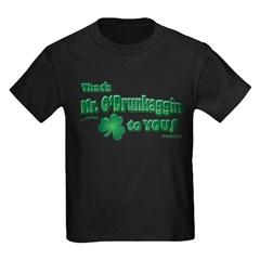 St Patrick's Day t-shirt, Mr T