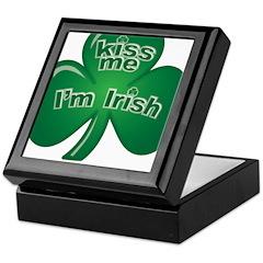 St Patrick's Day - Kiss Me Keepsake Box