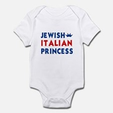 Jewish Italian Princess Infant Creeper