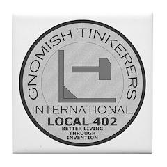 Gnomish Tinkerers Union Tile Coaster