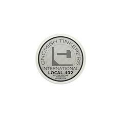 Gnomish Tinkerers Union Mini Button (10 pack)