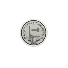Gnomish Tinkerers Union Mini Button