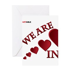 RIGHTSIDE-WE ARE IN Greeting Card