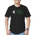 Your Bank Just Called... Men's Fitted T-Shirt (dar