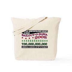 Liberal Greed Tote Bag