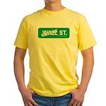 Greedy St. Yellow T-Shirt