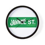 Greedy St. Wall Clock