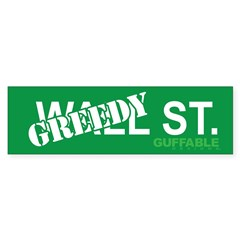 Greedy St. Sticker (Bumper 10 pk)