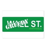 Greedy St. Postcards (Package of 8)