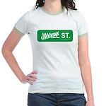 Greedy St. Jr. Ringer T-Shirt