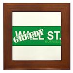 Greedy St. Framed Tile