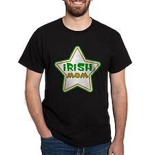 Irish Mom Black T-Shirt