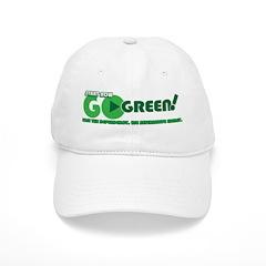 Go Green! Baseball Cap
