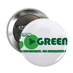 "Go Green! 2.25"" Button (100 pack)"