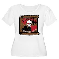 Poker Pirate Scroll T-Shirt