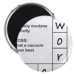 Work Sucks Magnet