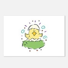 Baby Chick in Egg Postcards (Package of 8)