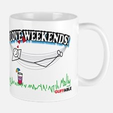 I LOVE WEEKENDS! Mug