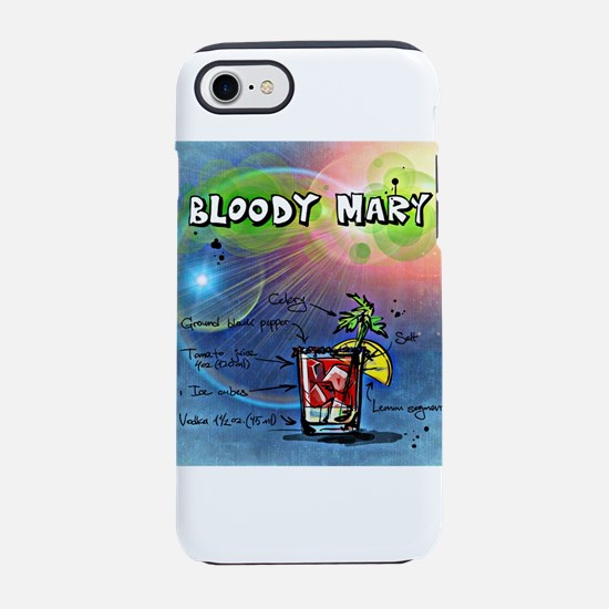 Bloody Mary (Blue) iPhone 7 Tough Case