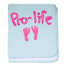 Pro Life _1 baby blanket
