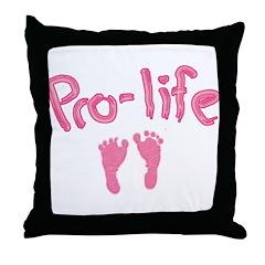 Pro Life _1 Throw Pillow