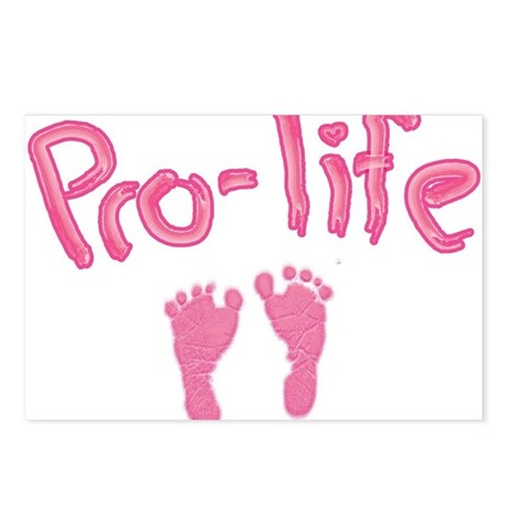 Pro Life _1 Postcards (Package of 8)