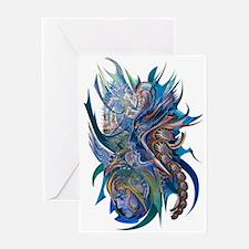 Mythological Warriors Greeting Card