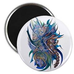 Mythological Warriors Magnet