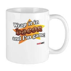 Wrap it in Bacon and I'm game Mug